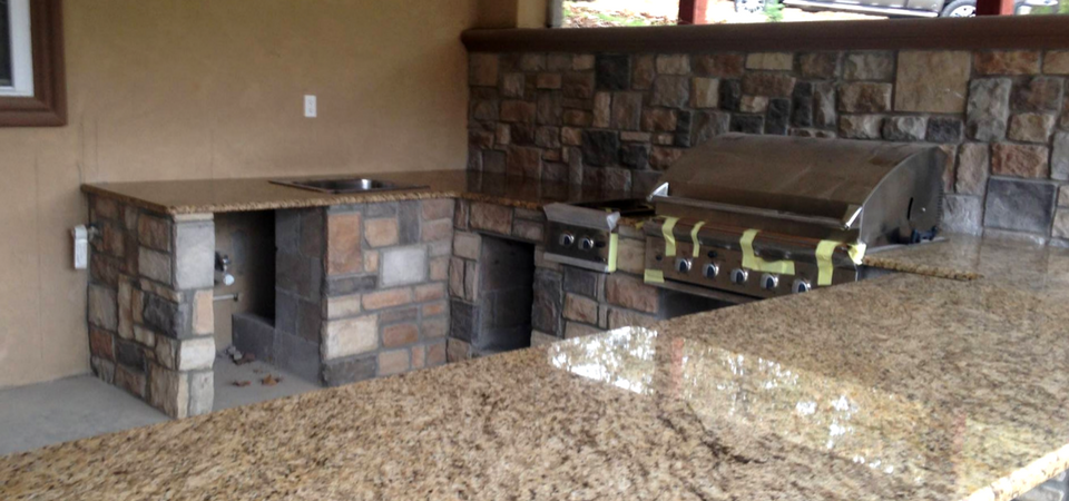 outdoor granite counter tops